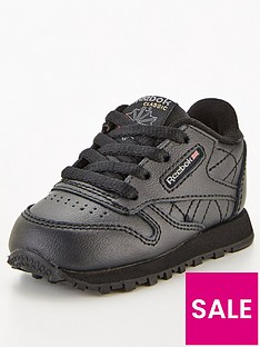 reebok-classic-leather-infant-trainers-black