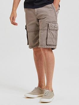 fatface-breakyard-cargo-shorts-grey