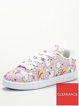 reebok-royal-complete-clean-glitter-cats-20-childrens-trainers-pinkwhite