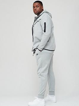 nike-plus-size-tech-fleece-pants-dark-grey