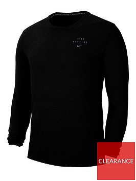 nike-running-miler-long-sleeve-top-black