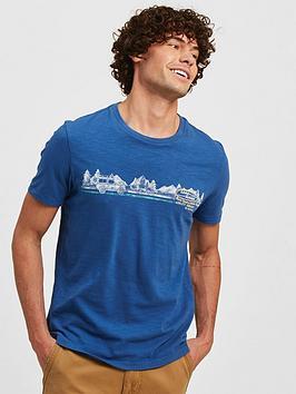 fatface-nbspland-rover-utility-graphic-short-sleevenbspt-shirt-blue