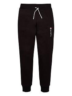 champion-girls-rib-cuff-pants-black