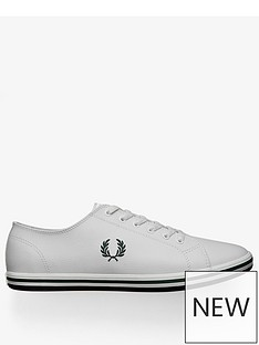 fred-perry-kingston-lace-up-leather-trainer-white
