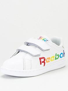reebok-royal-complete-clean-v-20-rainbow-childrens-trainers-multi