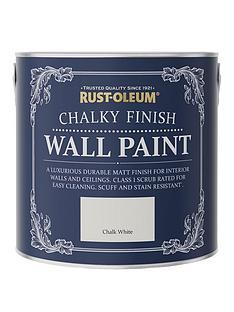 rust-oleum-chalky-finish-25-litre-wall-paint-ndash-chalk-white