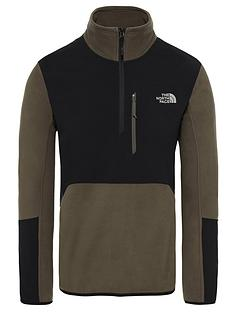 the-north-face-glacier-pro-14-zip-taupe