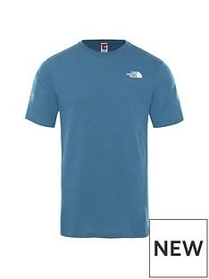 the-north-face-short-sleevenbspredbox-t-shirt-blueblack