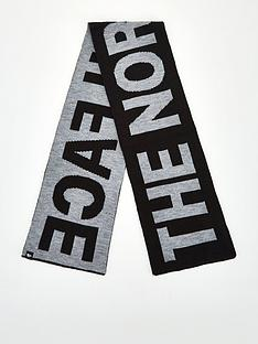 the-north-face-the-north-face-logo-scarf-blackgreynbsp