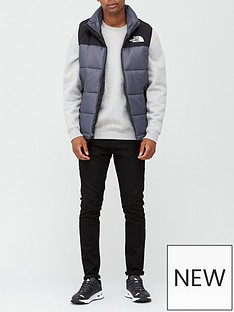 the-north-face-himalayan-insulated-vest-grey
