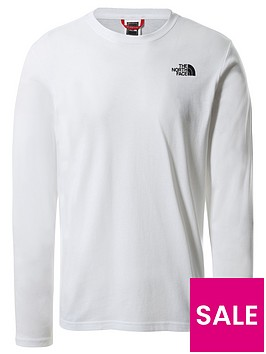 the-north-face-long-sleeve-red-box-t-shirt-white