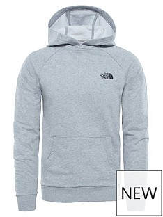 the-north-face-raglan-redbox-hoodie-light-grey-heather