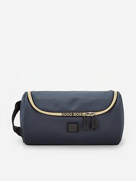 boss-hyper-faux-leather-wash-bag-navy