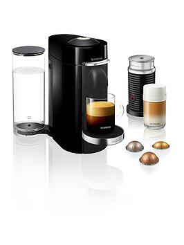 Nespresso Magimix Nespresso Vertuo Plus Coffee Machine Bundle - Black
