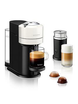 Nespresso Vertuo Next 11710 Coffee Machine With Milk Frother By Magimix - White