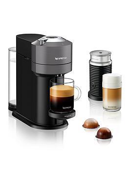 Nespresso Vertuo Next 11711 Coffee Machine With Milk Frother By Magimix - Dark Grey