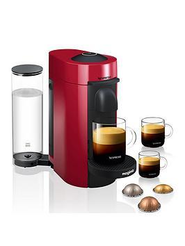Nespresso Magimix Nespresso Vertuo Le Coffee Machine - Red