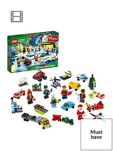 LEGO City 60268 Advent Calendar 2020 with Micro Vehicles & Minifigures Best Price, Cheapest Prices