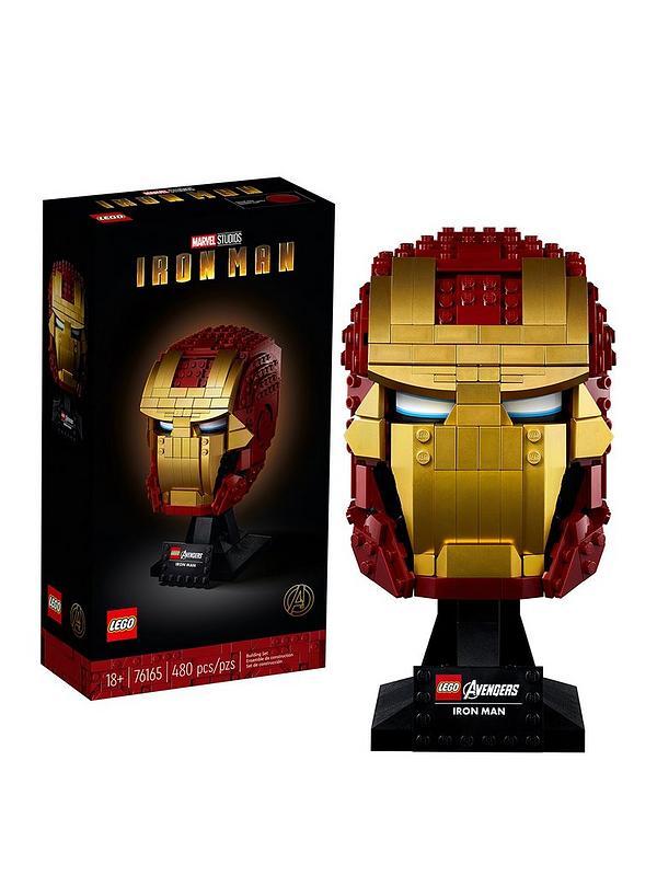 Lego Super Heroes 76165 Iron Man Helmet Very Co Uk