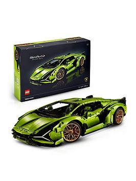 LEGO 42115 Technic Lamborghini Sián FKP 37 Race Car, Advanced Building Set for Adults, Exclusive Collectible Model