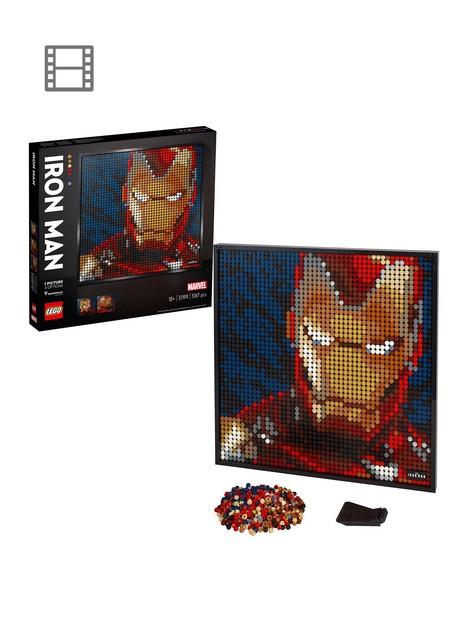 lego-art-31199-marvel-studios-iron-man-deacutecor-set