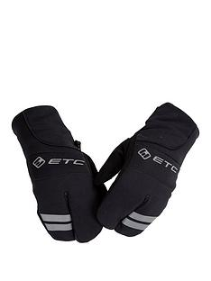 cycling-junior-winter-mittens-black