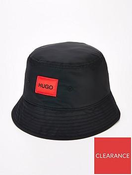 hugo-men-x-5551-red-patch-logo-bucket-hat-blacknbsp