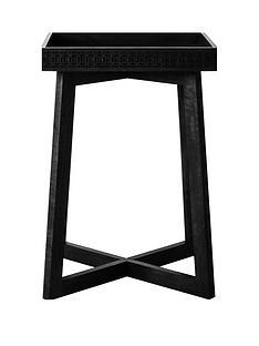 hudson-living-boho-boutique-bedside-table-black
