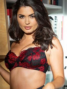 pour-moi-decadence-underwired-bra-red-black