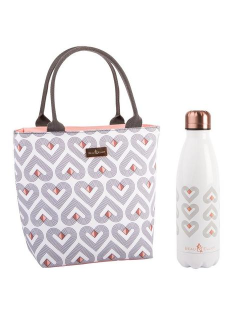 beau-elliot-vibe-insulated-lunch-tote-with-500ml-stainless-steel-drinks-bottle