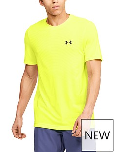 under-armour-seamless-wave-short-sleeve-t-shirt-yellownbsp