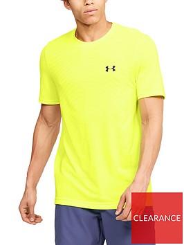 under-armour-seamless-wave-short-sleeve-t-shirt-yellownbsp