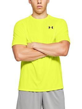under-armour-tech-20-short-sleeve-t-shirt-yellow