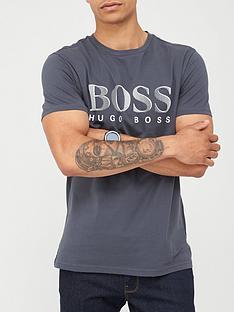 boss-beachwear-logo-swim-t-shirt-grey