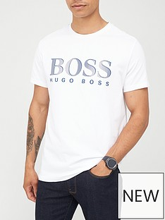 boss-beachwear-logo-swim-t-shirt-white