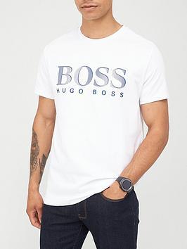 boss-beachwear-logo-swim-t-shirt-white
