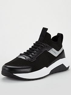hugo-atom-runner-trainers-black
