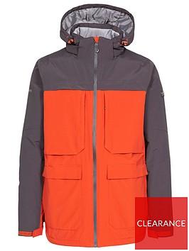 trespass-heathrack-rain-jacket-redgrey