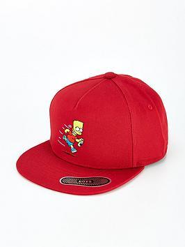 vans-x-the-simpsons-childrens-el-barto-snapback-cap-red