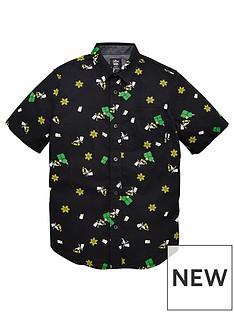 vans-boysnbspglow-bart-houser-short-sleeve-top-black