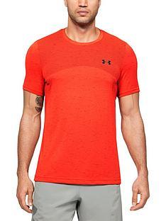 under-armour-seamless-t-shirt-rednbsp
