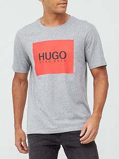 hugo-dolive-u204-box-logo-t-shirt-greynbsp