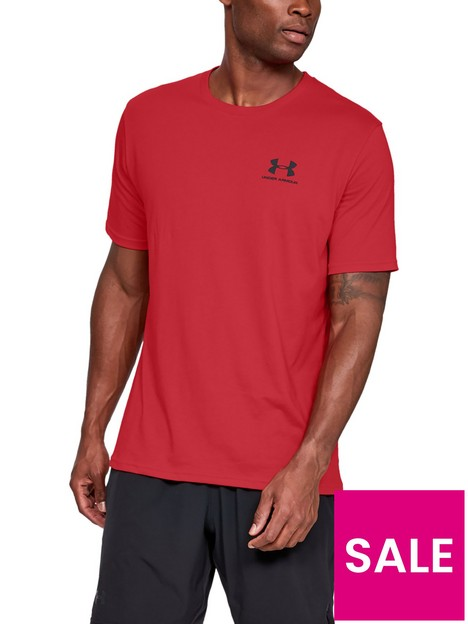 under-armour-trainingnbspsportstyle-left-chest-logo-t-shirt-red