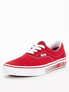 vans-era-junior-racers-edge-trainers-redwhite