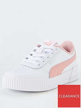 puma-carina-l-childrens-trainers-whitepink