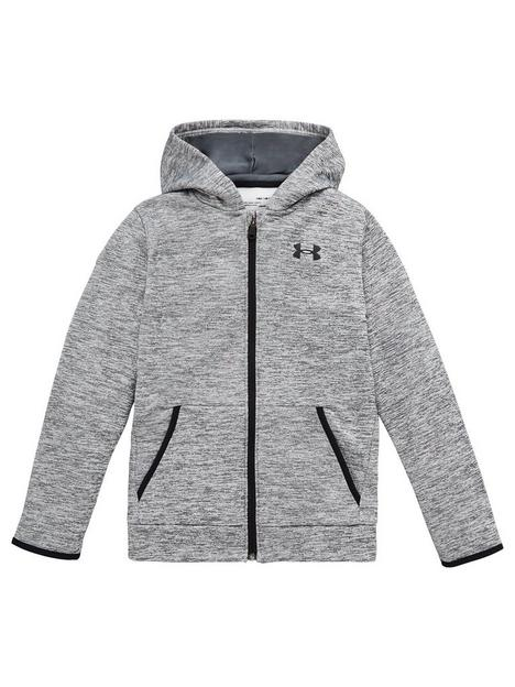 under-armour-armour-fleece-full-zip-hoodie-greyblack