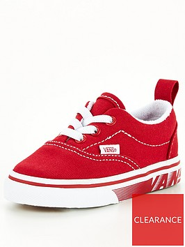 vans-era-racers-edge-infant-trainer-red-white