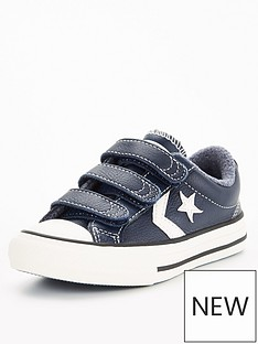 converse-converse-star-player-3v-ox-leather-heathered-knit-childrens