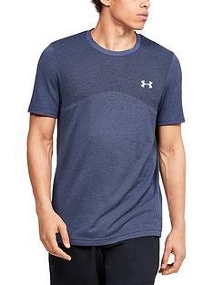 under-armour-seamless-t-shirt-bluenbsp