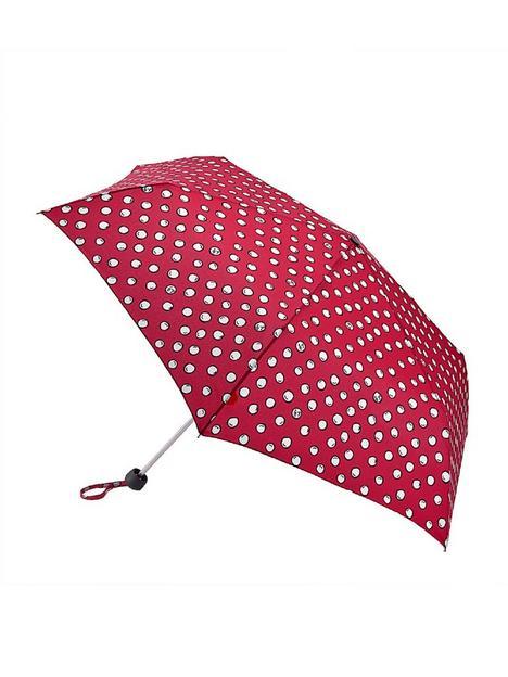 lulu-guinness-polka-pearls-minilite-umbrella-multi